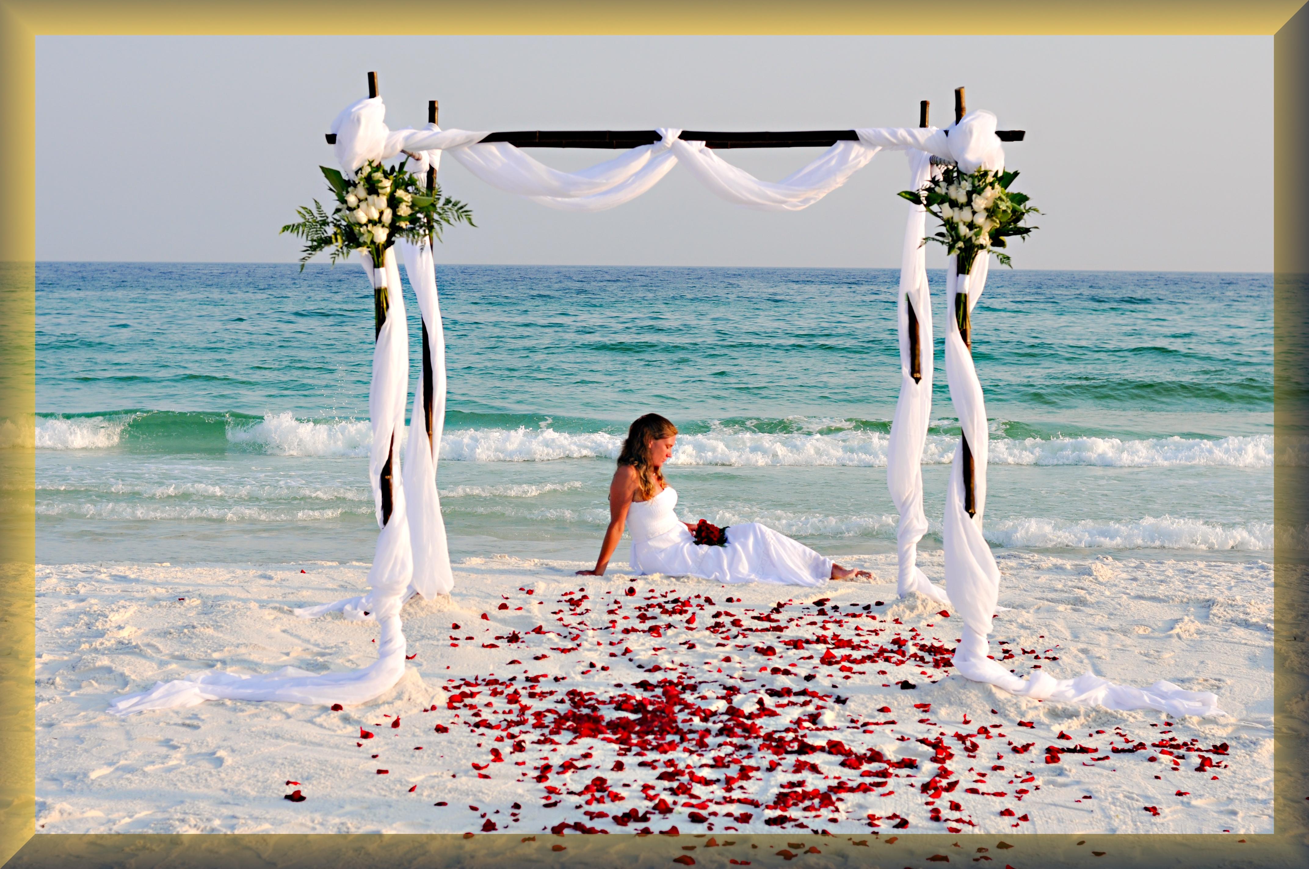 Destin Florida Beach Weddingspanama Citypensacola Wedding